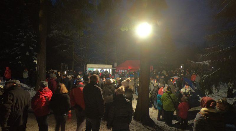 Waldweihnacht am Fichtelsee
