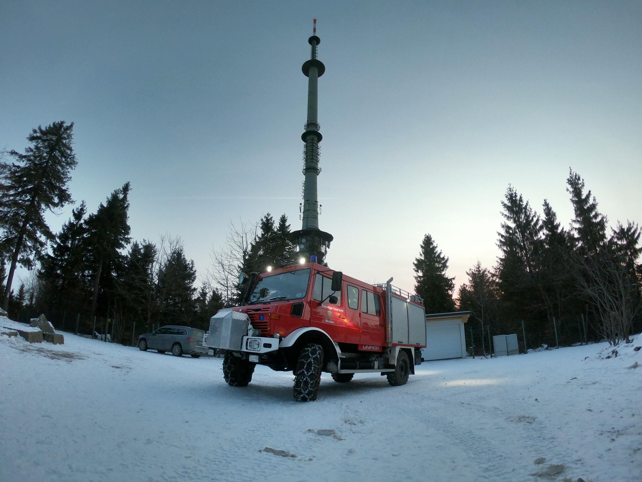 Unimog Neubau 48/1 bei Winter