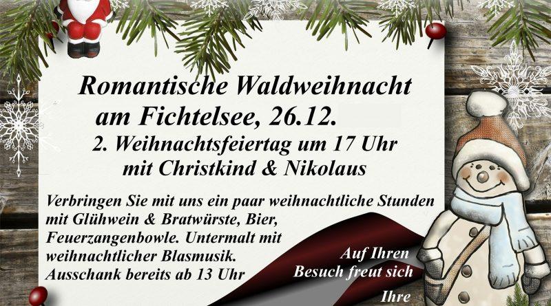 Waldweihnacht am 26.12.2019
